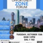 UNT Dallas Opportunity Zone Forum presentation
